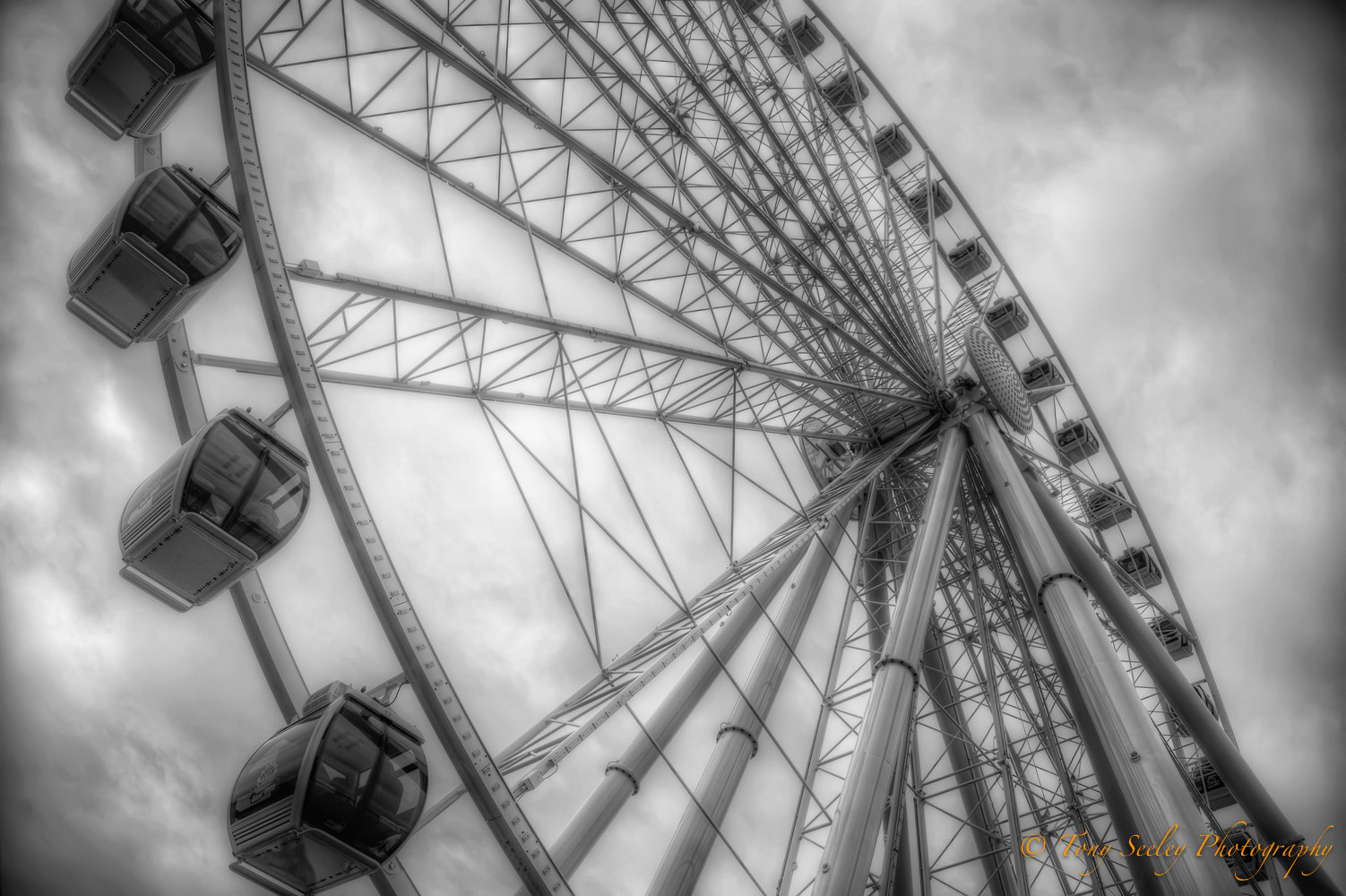 Photograph Ferris Wheel by Tony Seeley on 500px
