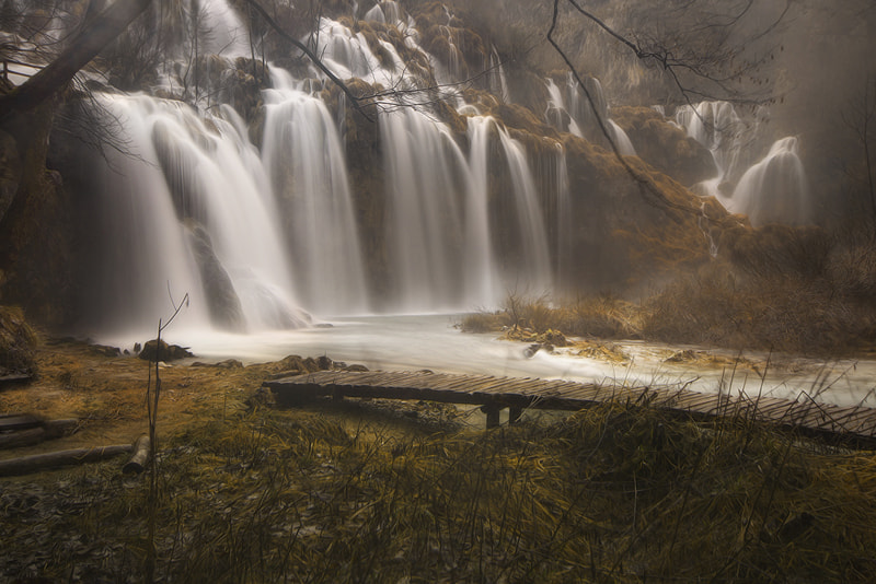 Photograph Mysterious waterfalls by Ivan Prebeg on 500px