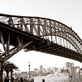 Harbour Bridge, Sydney by Vinoth Kumar (PhotographyThroughMyEyes)) on 500px.com