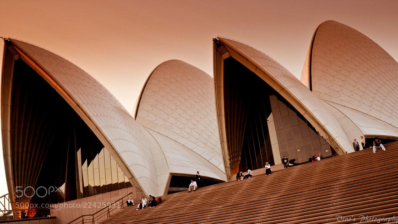 Photograph Opera house, Sydney @ Sunset by Vinoth Kumar on 500px