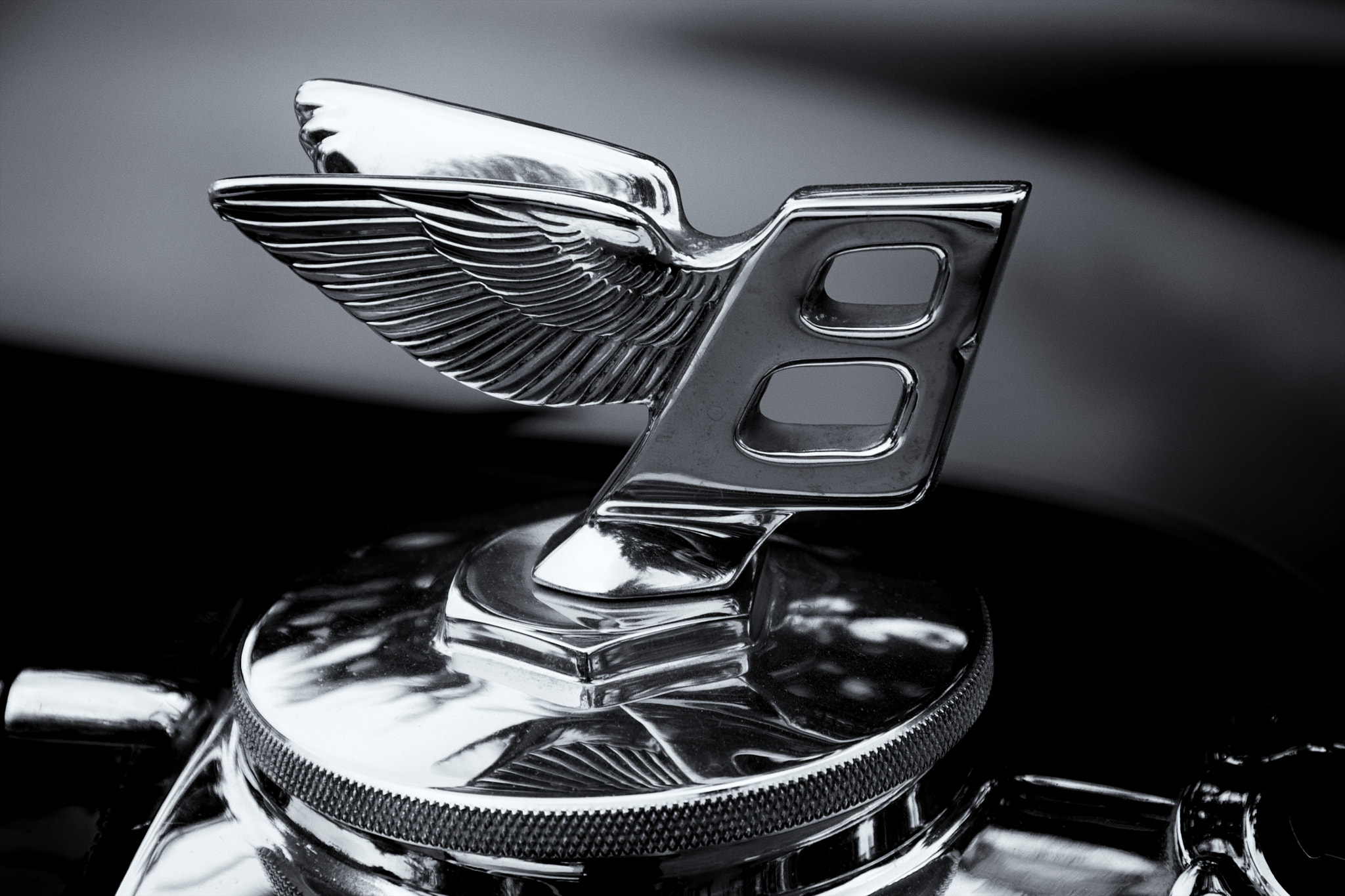 Photograph Bentley Hood Ornament by Brian Desrosiers on 500px