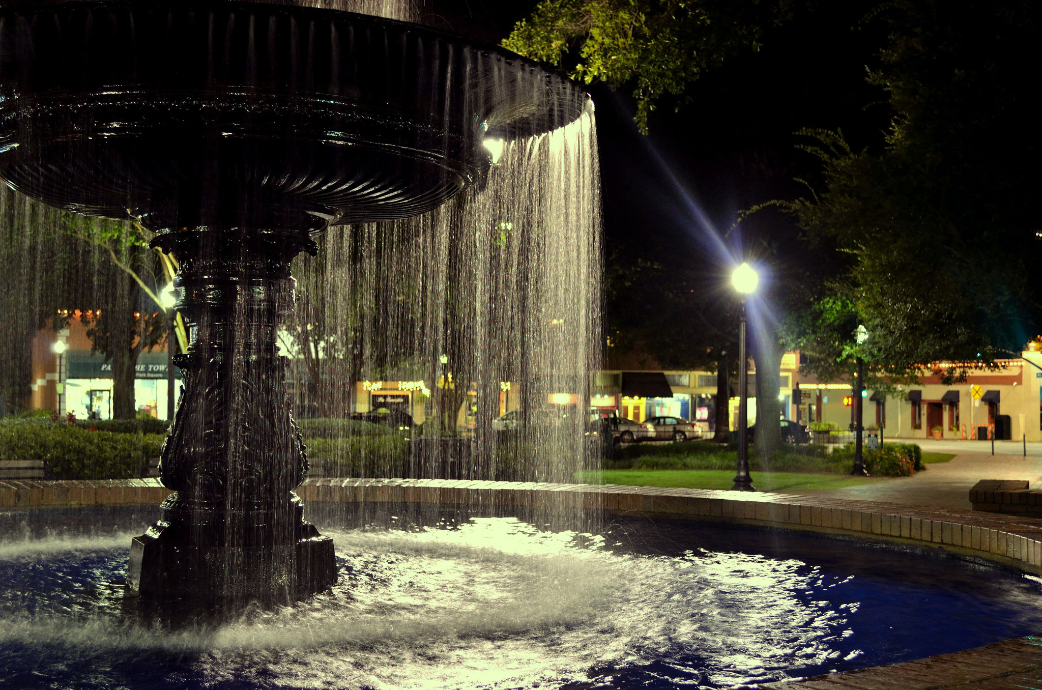Photograph Fountain by Senthil Balakrishnan on 500px