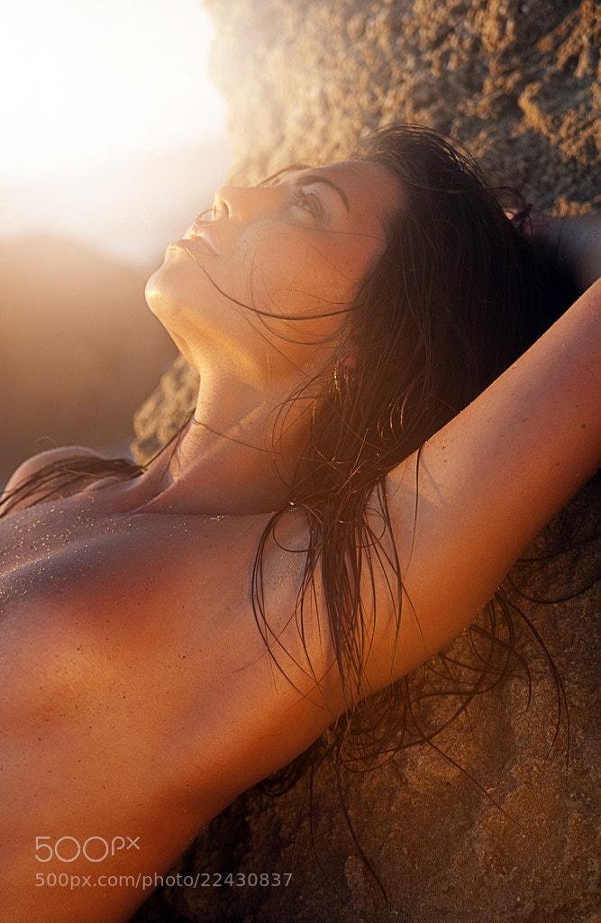 Photograph on the beach by Alena Kycher on 500px