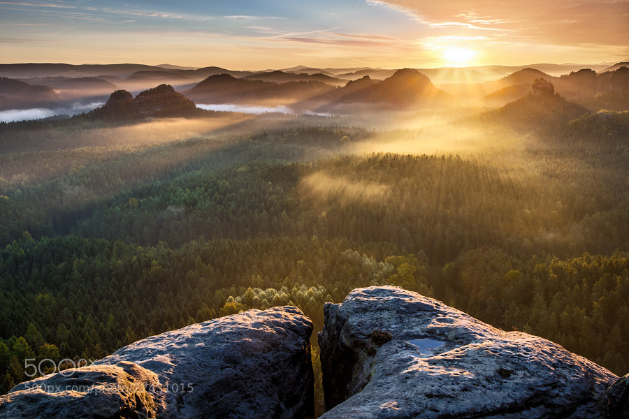 Photograph NP- Saxon Switzerland by Evzen Takac on 500px