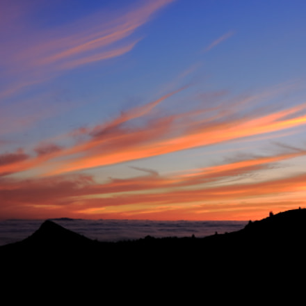 Sunset on the Teide