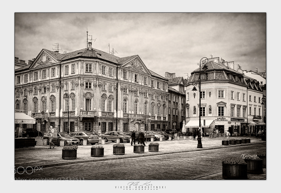 Photograph Streets of Warsaw by Viktor Korostynski on 500px