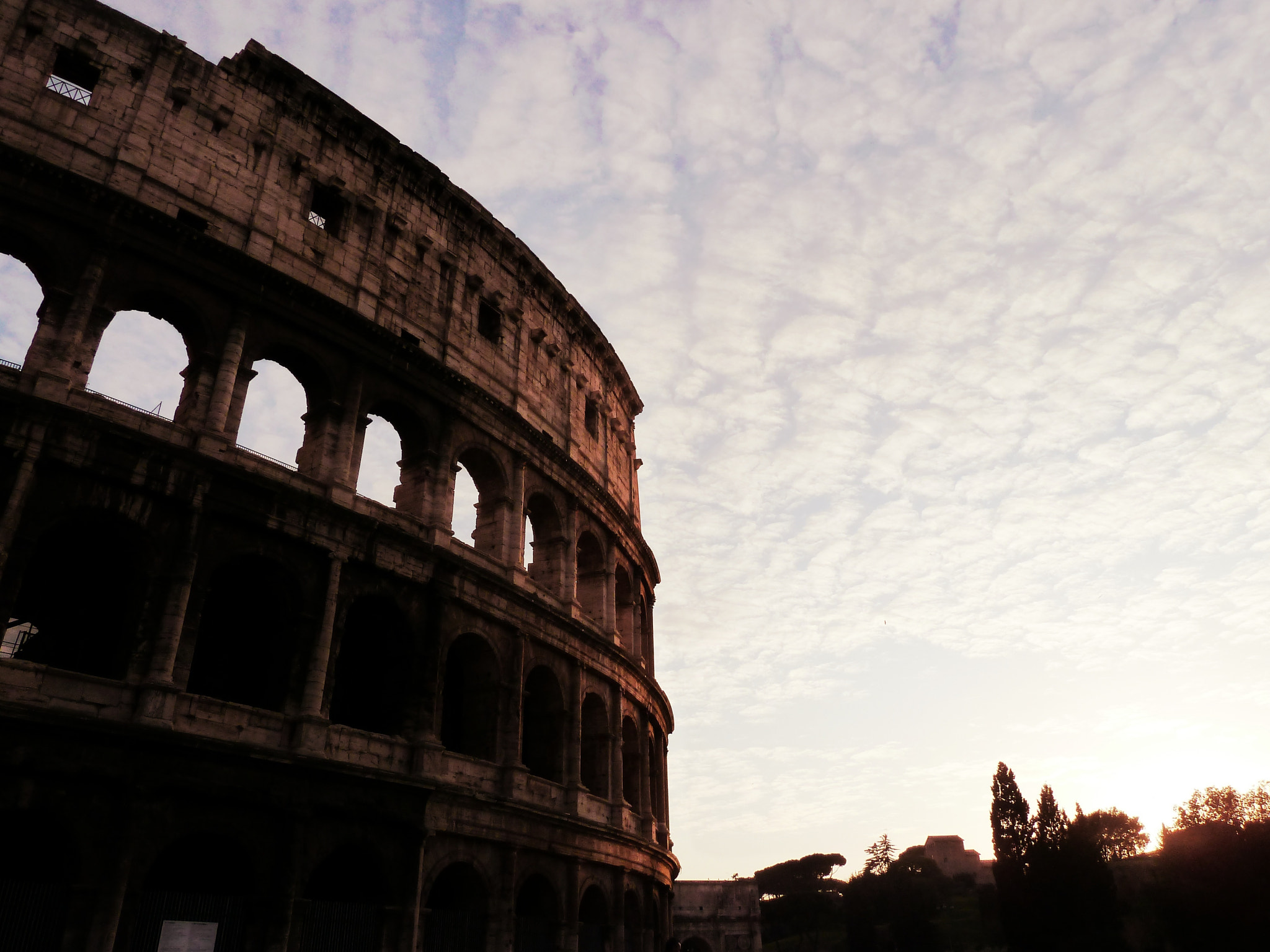 Photograph Colosseum at dusk light by Michael Papandonis on 500px
