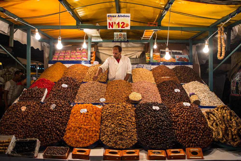 Photograph Jemaa el-Fnaa Market Stall by David Lennox on 500px