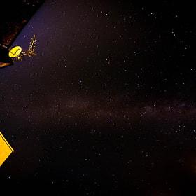 #noche #estrellas #antena #edificio #vialactea #espacio #night #stars #building #milkyway #space...
