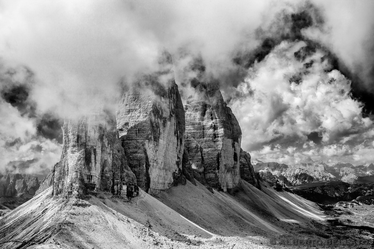 Photograph Cloudy Lavaredo by Alberto Bellato on 500px