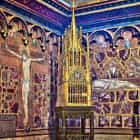 Prague St.Vitus Cathedral St. Wenceslas Chapel Golden Monstrance