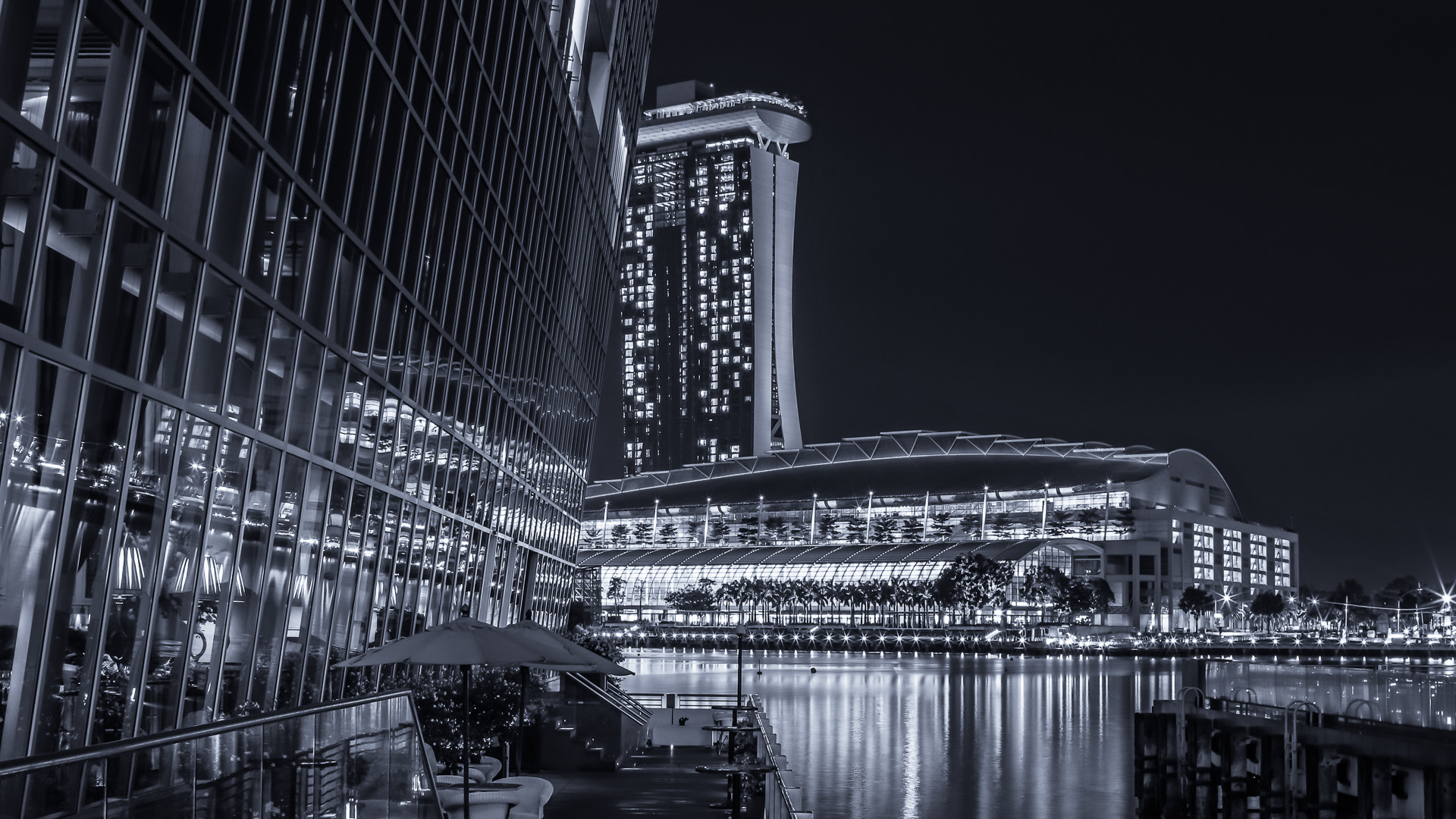 Photograph Singapore at Night by TO X on 500px