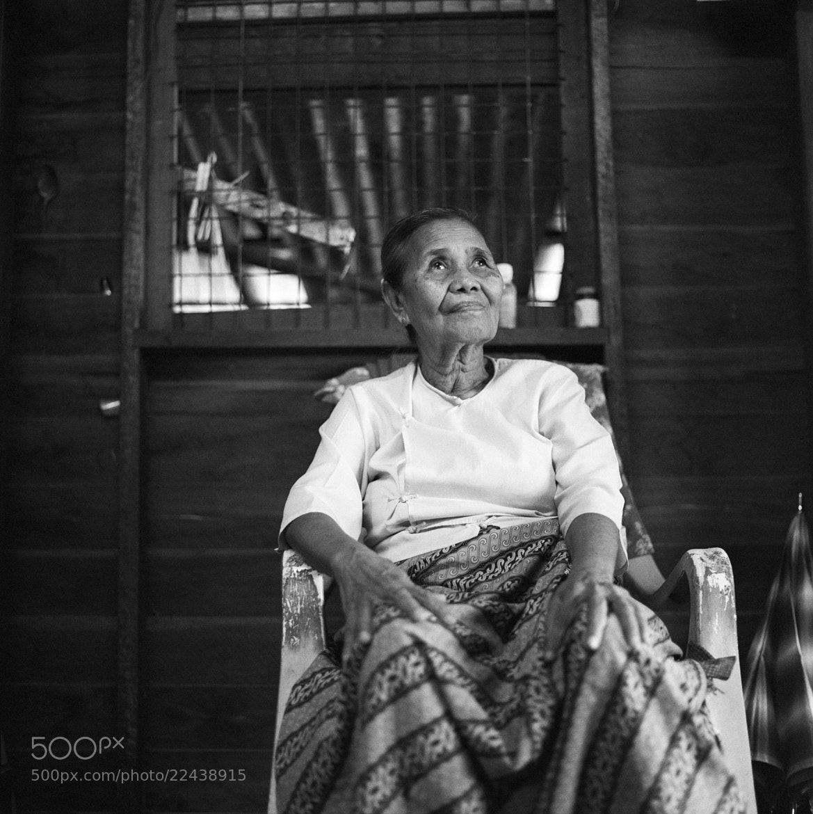 Photograph old lady, unnamed village by  momofuku on 500px