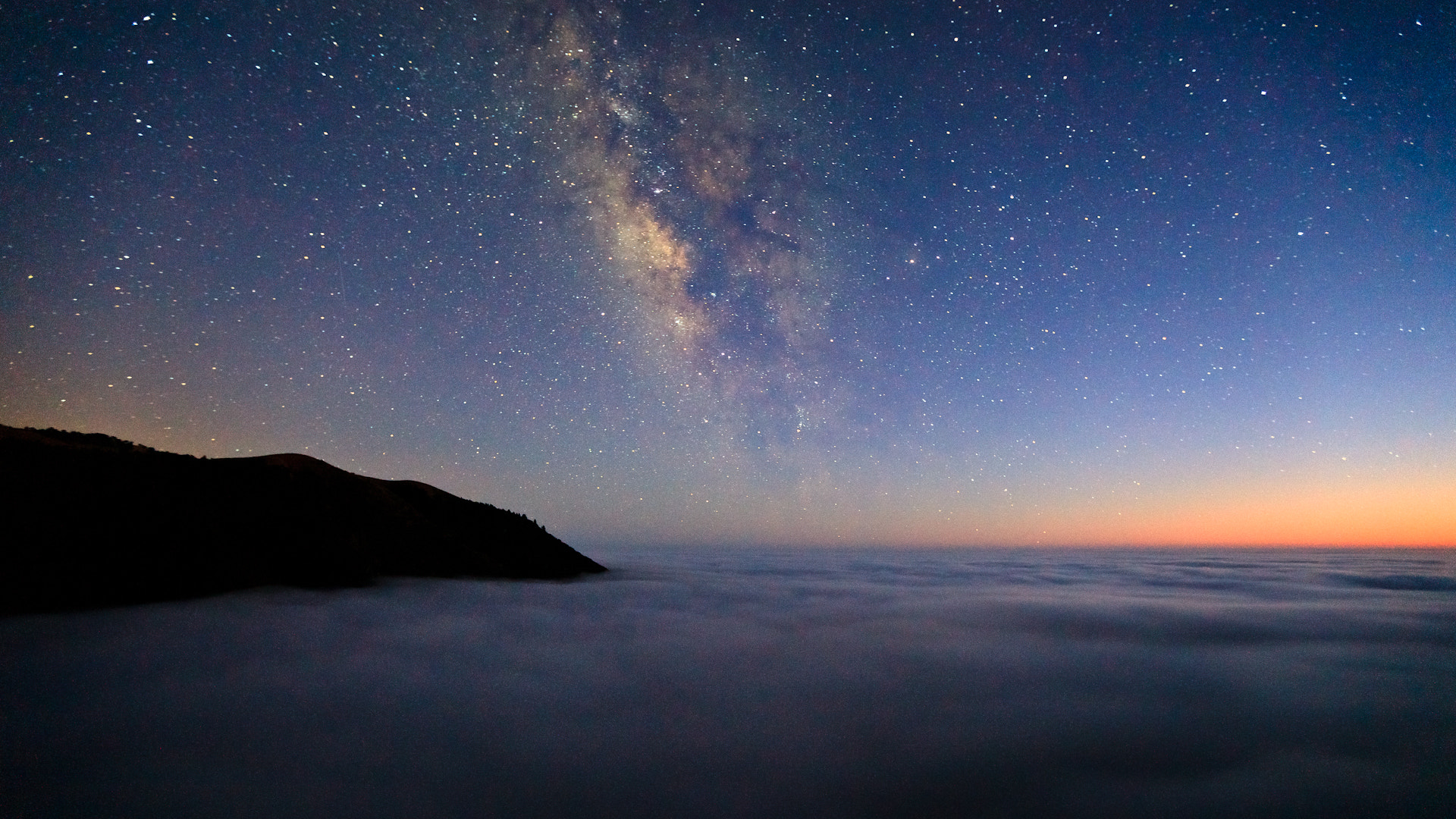 Photograph Big Sur above the clouds by Josh Owens on 500px