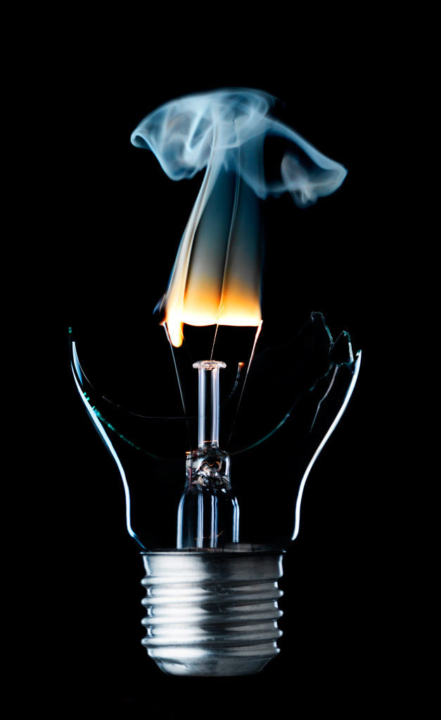 Photograph Lightbulb by Thomas Mikkelsen by Thomas Mikkelsen on 500px