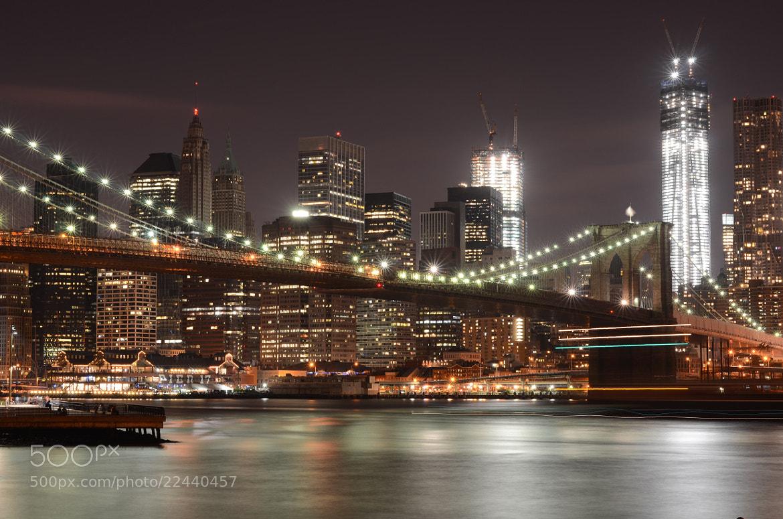 Photograph New York, Brooklyn Bridge .. by Luis Rodriguez on 500px