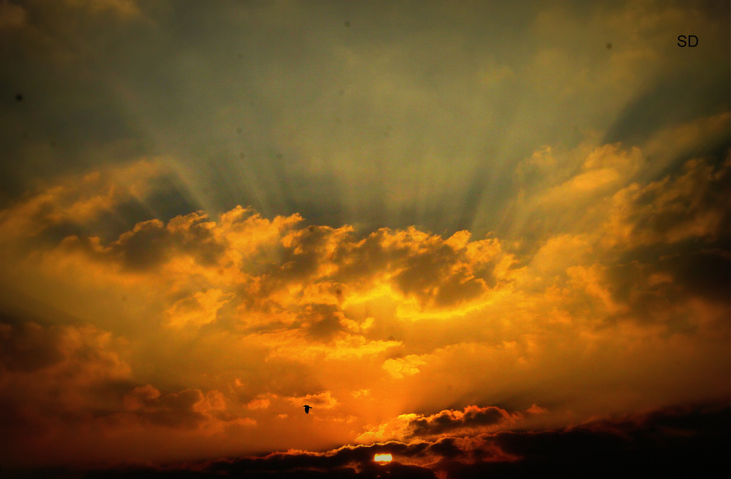 Photograph Sunset from my friend place by Sadiq Akbar on 500px