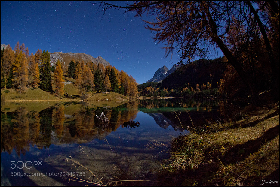 Photograph Night at the Lake by Jan Geerk on 500px
