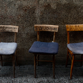 The three Bevagna's thrones by Silvia Sabbadini (sbbslv)) on 500px.com