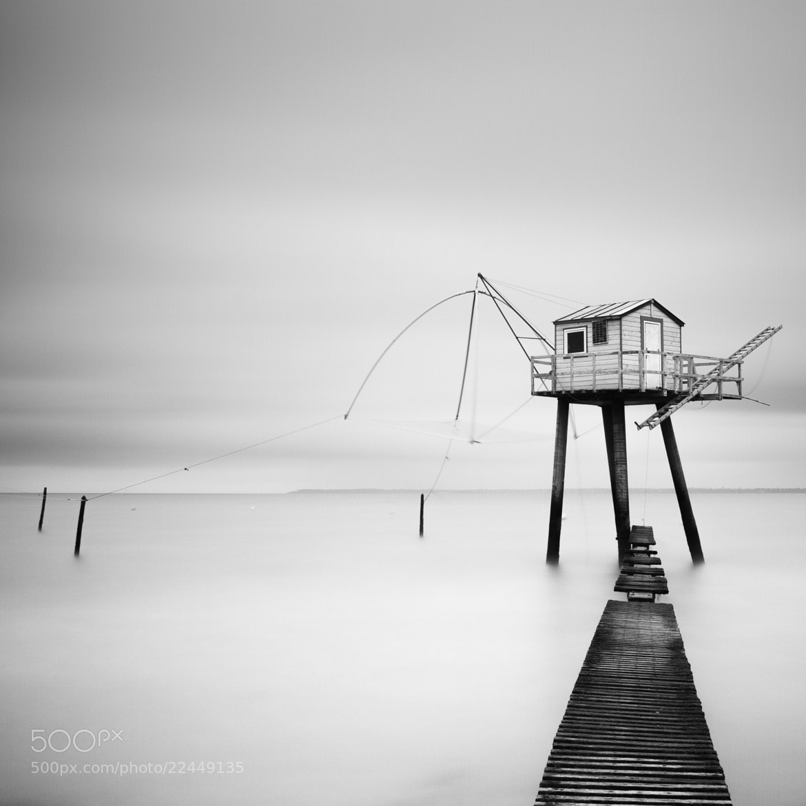 Photograph Fishing house by Emmanuel LE GUELLEC on 500px