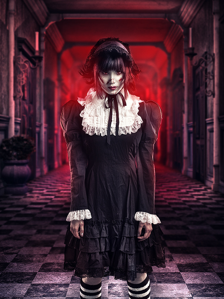 Photograph Little dark doll by Rebeca  Saray on 500px