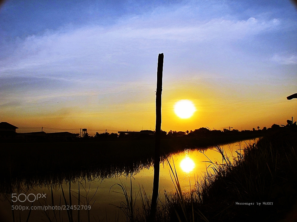 Photograph The end of the Day by Thita Mateo on 500px