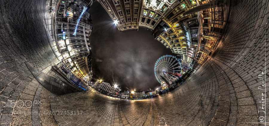 Photograph LilleUmination HDR by Jérôme Pouille on 500px