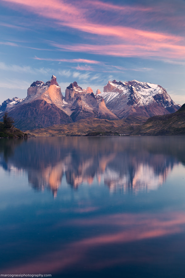 Lake Pehoé by Marco Grassi