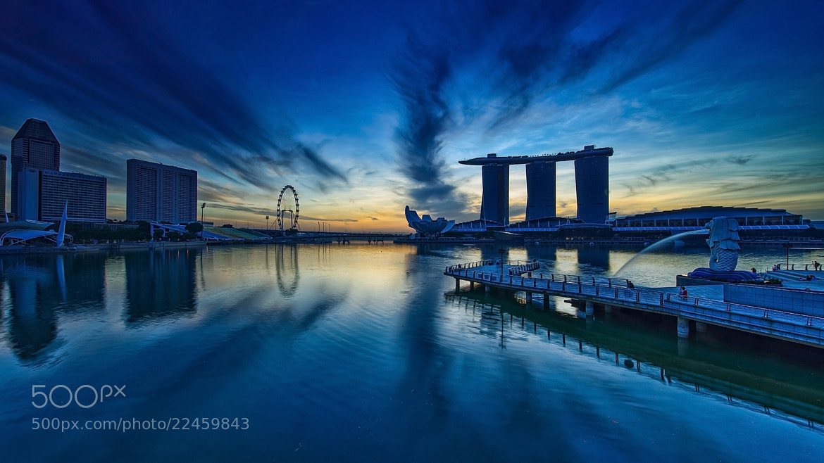 Photograph Marina Bay by Chit Min Maung on 500px