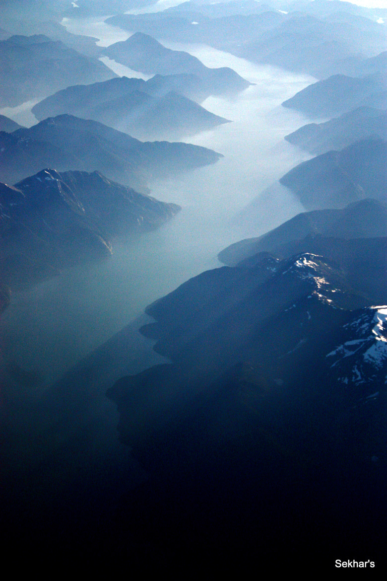 Photograph Over Greenland by Chandra Sekhar V on 500px