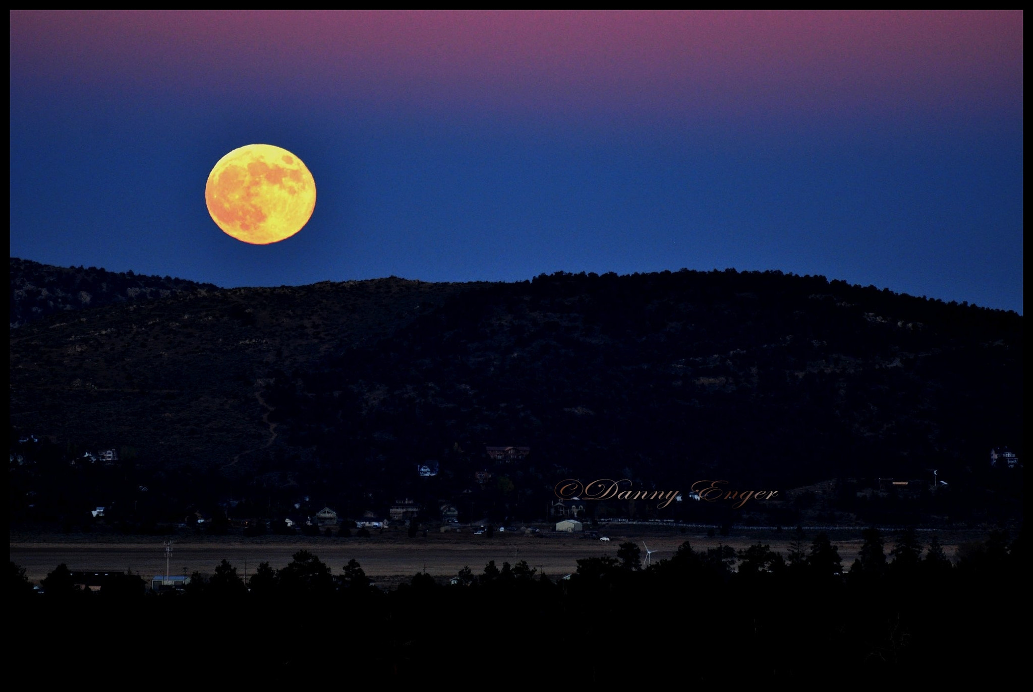 Photograph Harvest Moon by Danny Enger on 500px