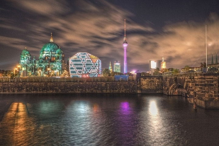 Photograph Berlin Skyline by hercegphotography on 500px