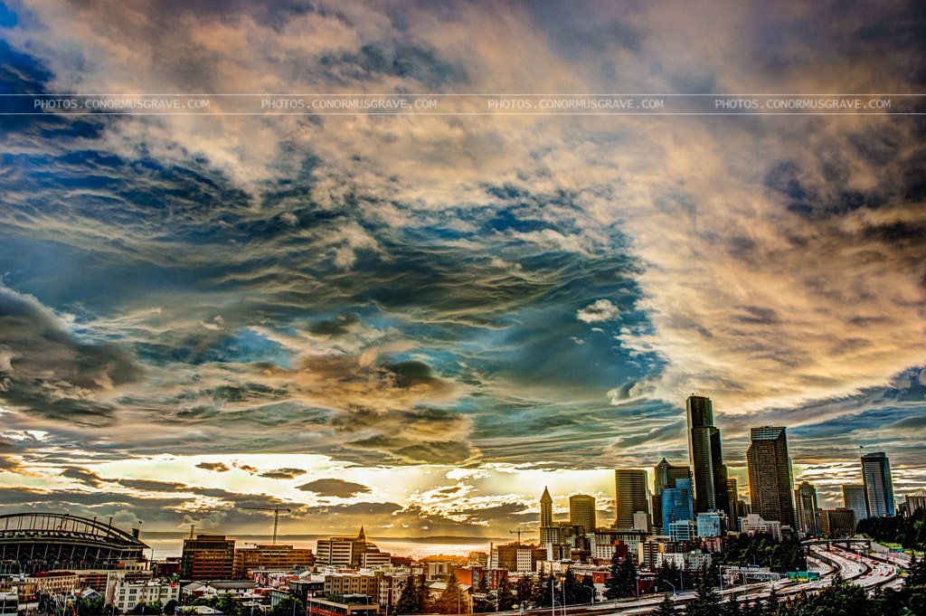 Photograph Early Seattle Sunset by Conor Musgrave on 500px