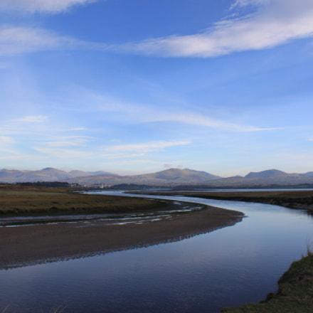 Snowdonia from Afon Braint
