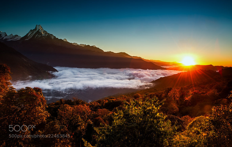 Photograph Beautiful sunrise @ Tadapani Nepal by Marcellian Tan on 500px