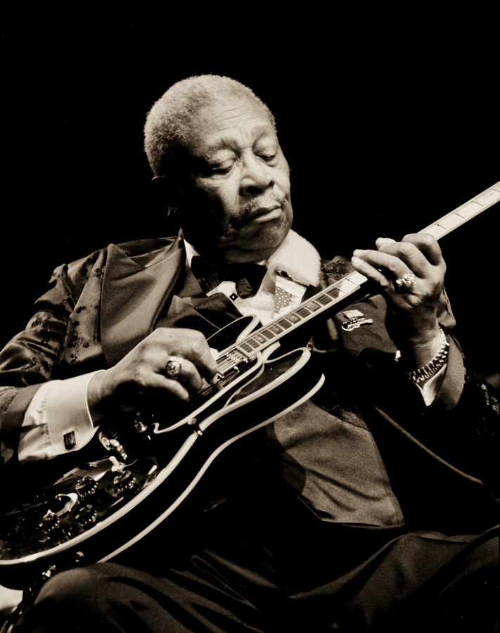 Photograph BB King by Markus Cuff on 500px