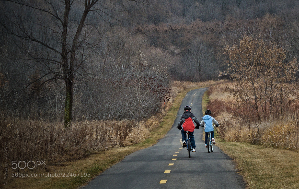 Photograph Autumn Bike Ride by Tom Wilkins on 500px