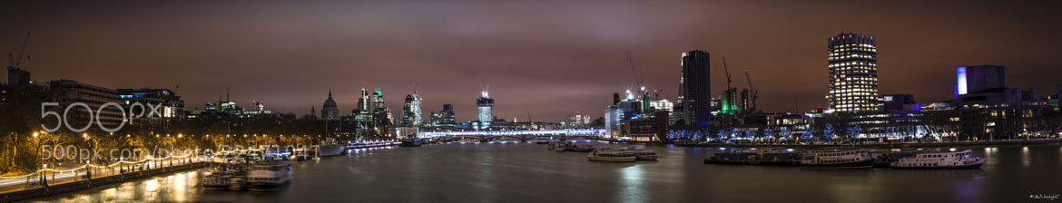Photograph Panoramic London's South Bank by Andreas Neøphytøu on 500px