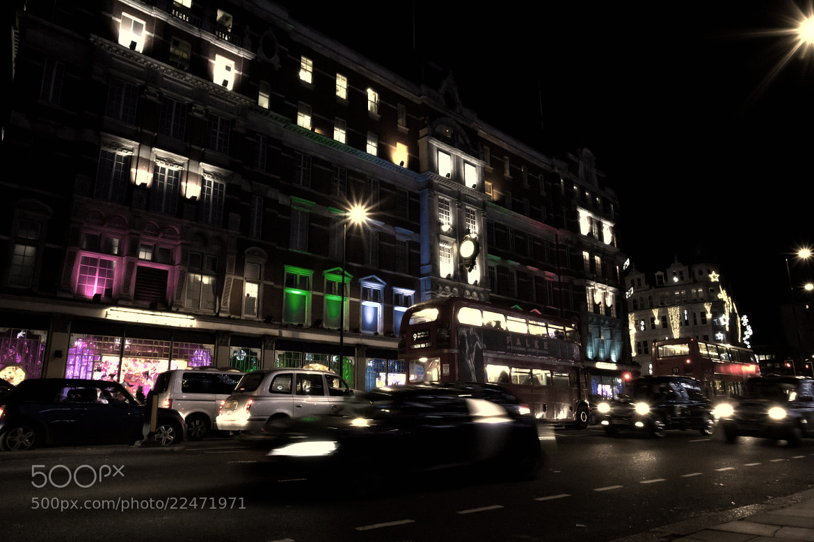 Photograph London night view by Magdalena Warmuz-Dent on 500px