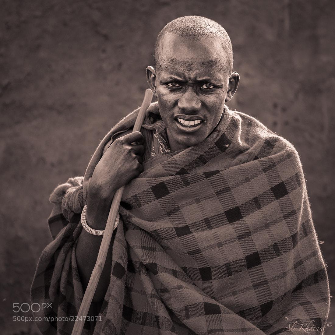 Photograph Masai Man by Ali Khataw on 500px
