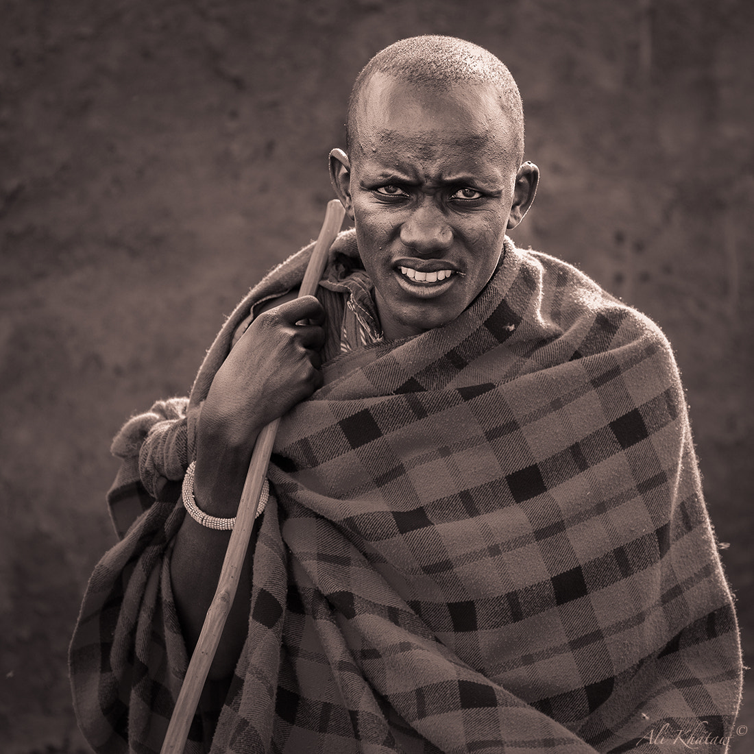 Photograph Masai Man by Ali Khataw on 500px