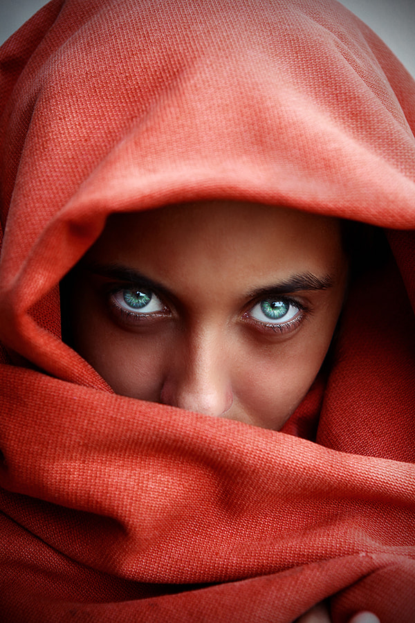 Photograph Afghan Girl (Steve McCurry) by Andre Jabali on 500px