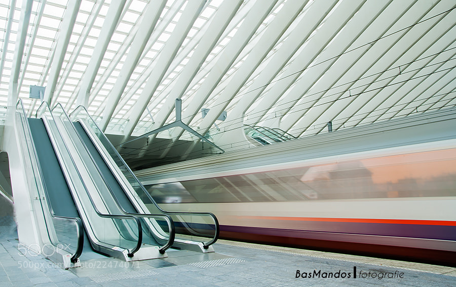 Photograph Station Liege-Guillemins by Bas Mandos on 500px