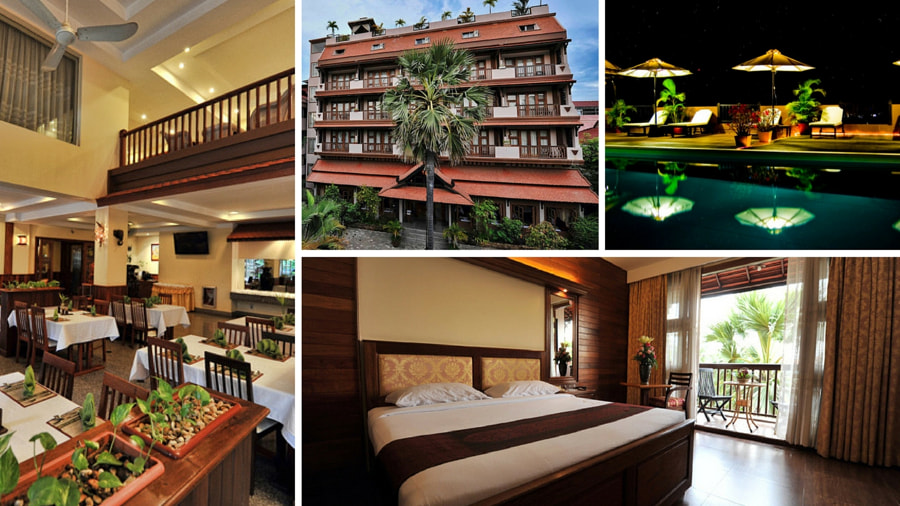 City River Hotel - Siem Reap Hotel by Sai Karthik Reddy Mekala on 500px.com