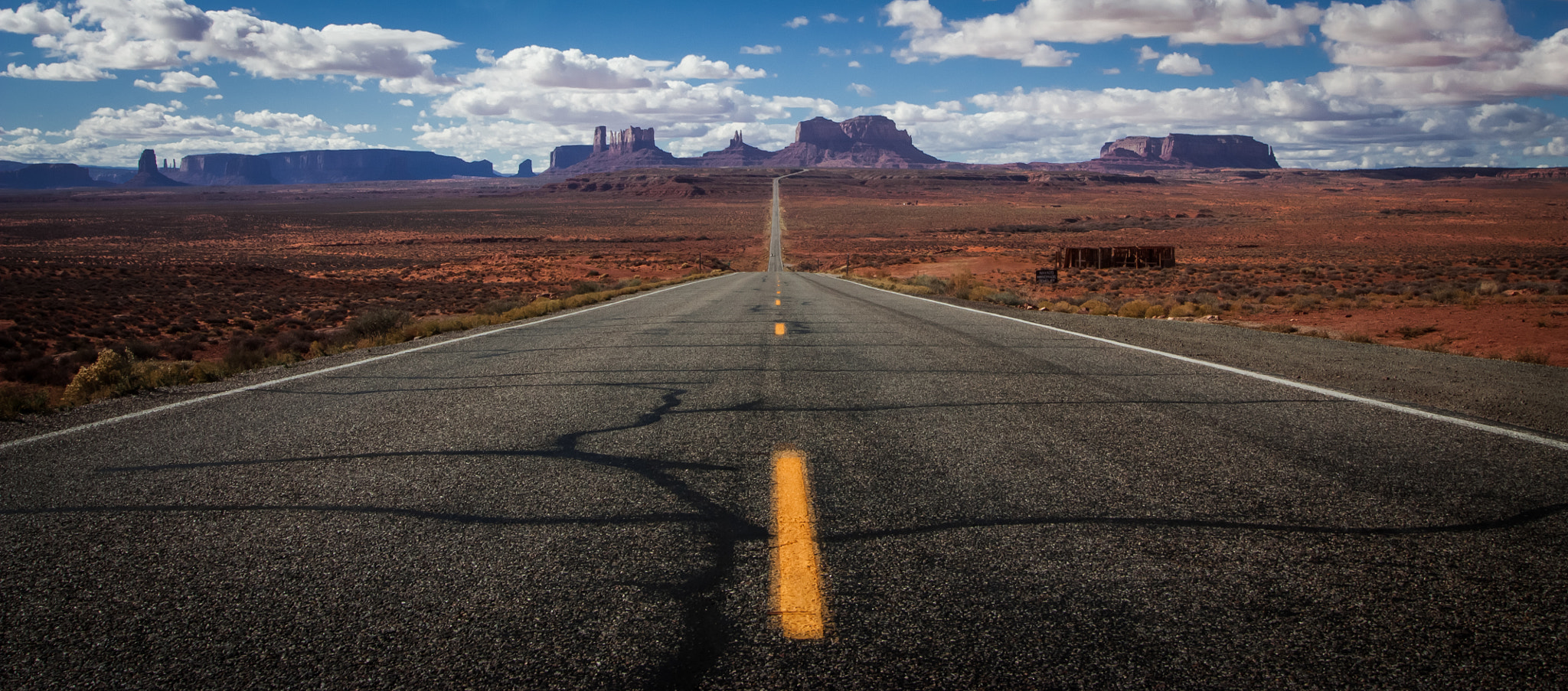 Photograph 163 South to Monument Valley by Melinda Ford on 500px