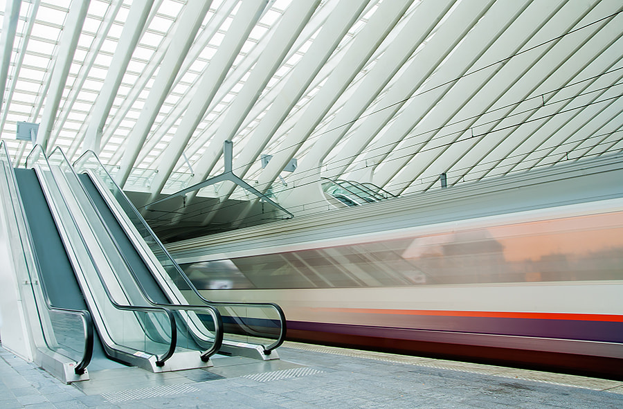 Photograph Liege-Guillemins by Bas Mandos on 500px