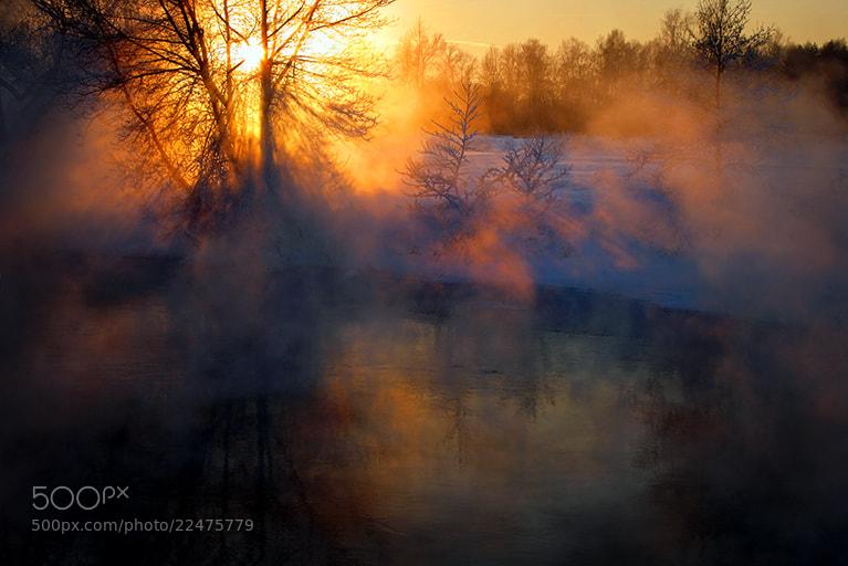 Photograph ...Просто зимний закат... by Андрей Войцехов on 500px