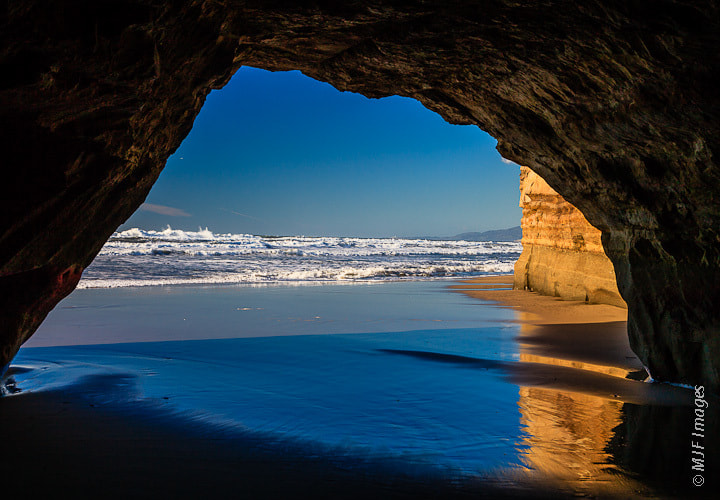 Photograph Beach Cave by Michael Flaherty on 500px