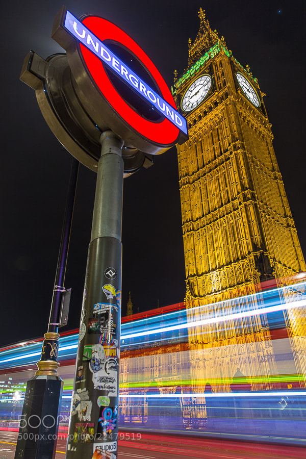 Photograph London night by Ben Hudson on 500px