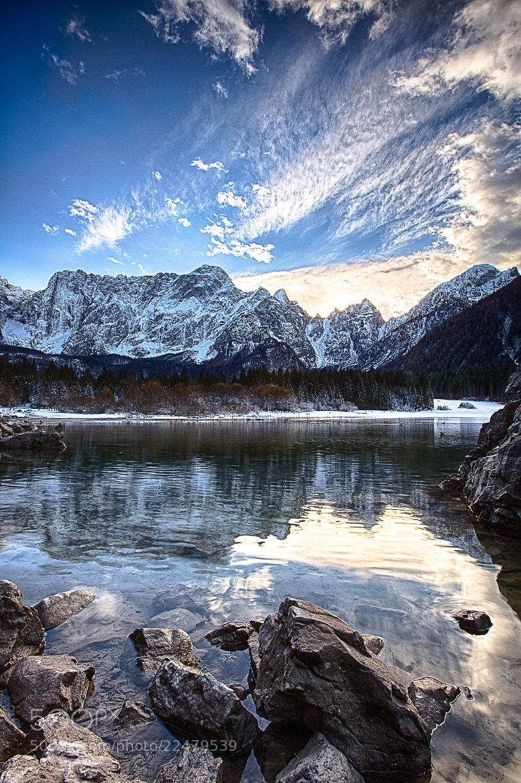 Photograph fusine, lake #2 by Fabrizio Gallinaro on 500px
